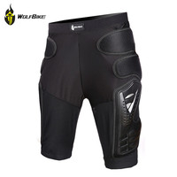 WOLFBIKE Hockey Motorcycle Armor Shorts Off-road Motorcross Downhill Mountain Bike Skating Extreme Sport Protective Gear Hip Pad