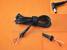 купить New L-shaped DC 4.5x3.0mm 1.2M 90 Right Angle cable power adapter connector cord For PC Laptop Notebook онлайн