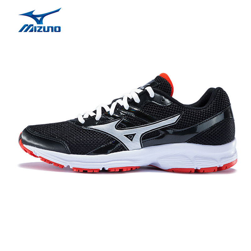 MIZUNO Men SPARK  Mesh Breathable Light Weight Cushioning Jogging Running Shoes Sneakers Sport Shoes K1GR160370 XYP303 mizuno men s sports beathable cushioning soccer shoes monarcida fs as light sport shoes sneakers p1gd152301 yxz003