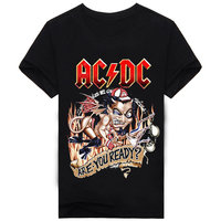 Band Rock Hip Hop Shirts T Shirt 3d Print Men T Shirt Cotton O Neck Blouse