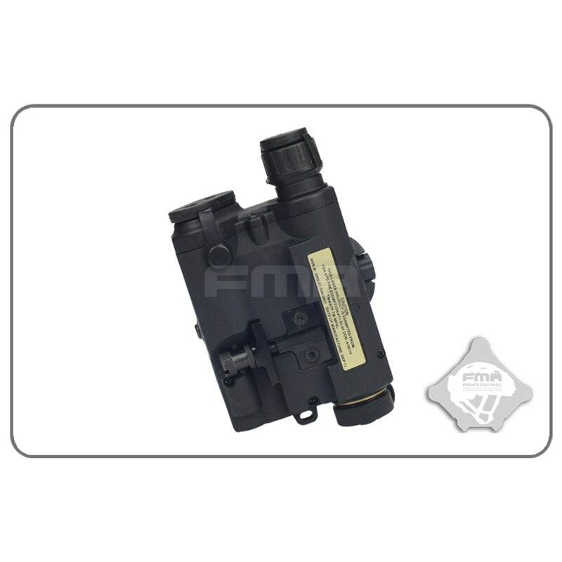 FMA PEQ-15 LA5 Version mise à niveau LED lampe de poche blanche + laser rouge avec lentilles IR fusil de chasse tactique Airsoft boîte de batterie TB0074 - 5