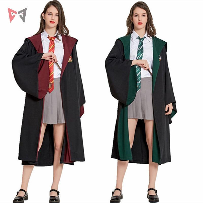 MMGG Poudlard Harri Potter cosplay Serdaigle/Gryffondor/Poufsouffle/Serpentard Cosplay Costumes Malfoy Hermione Costume
