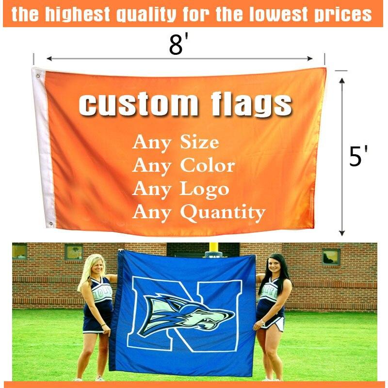 8ft * 5ft Freeshipping bendera kustom, Satu sisi bendera, Berbagai - Dekorasi rumah - Foto 4