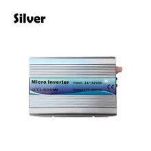 Подходит для 82 V Панели солнечные/24 V Батарея сетки галстук инвертора 500 W стекируемые DC11-32V Вход AC230V со слежением за максимальной точкой мощности синусоида микро-инвертор