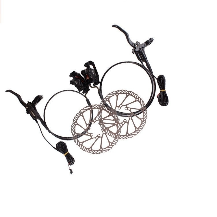 140mm 160mm One pair Aluminum Alloy Electric Power Control Shifter Bicycle E Bike MTB Brake Hydraulic Disc brake Set140mm 160mm One pair Aluminum Alloy Electric Power Control Shifter Bicycle E Bike MTB Brake Hydraulic Disc brake Set