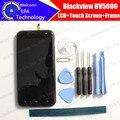Blackview BV5000 Дисплей + Сенсорный Экран Digitizer + Рамной конструкции 100% Оригинал Новый LCD + Сенсорный Дигитайзер для BV500 + подарки