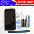 Blackview BV5000 Display + Touch Screen Digitizer + Frame Assembly 100% Original New LCD + Touch Digitizer for BV500 + Gifts