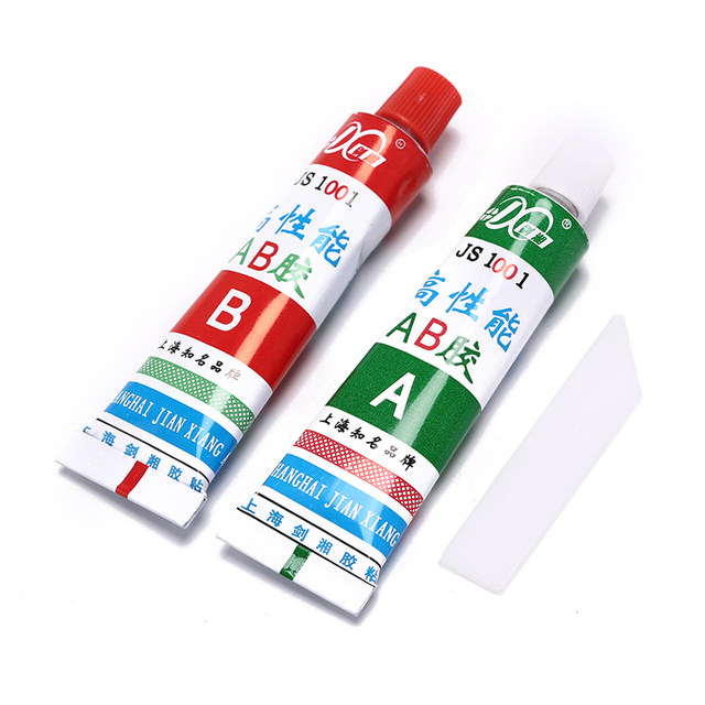 2pcs/set Ultra Strong AB Epoxy Adhesive Glue Spatula Strong Ceramic Glass  Rubber 20g Wholesale-in Epoxies from Home Improvement on Aliexpress com  