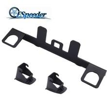 цена на ESPEEDER Universal Car Seat Belt Interfaces Guide Bracket Child Safety Seat Interface For ISOFIX Belt Connector Stand Holder