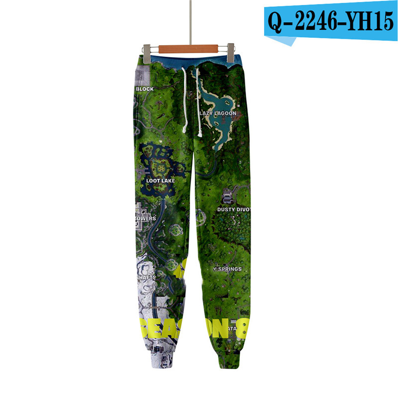 Fortnit Print Pants Men Pants Causal Kid Clothings Fortniter Kid Clothes Streetwear Print Clothings Women Clothes Men Streetwear Price $19.98