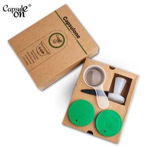 Image 5 - Capsules rechargeables et réutilisables en métal pour Machine dolce gusto, en acier inoxydable, café cadeau