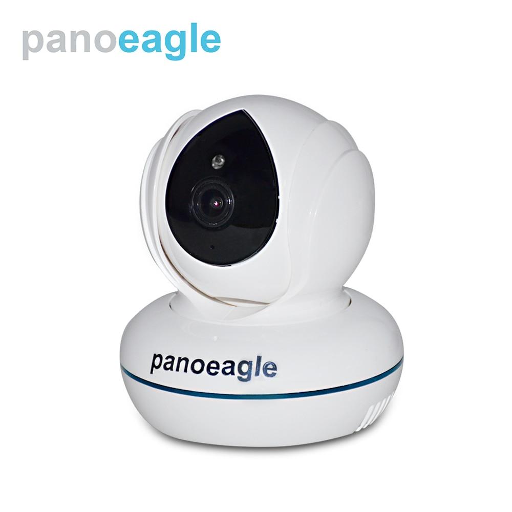 купить Panoeagle Home Security IP Camera Wi-Fi Wireless Mini Network Camera Surveillance Wifi 4MP Night Vision CCTV Camera PE-R412E-W недорого
