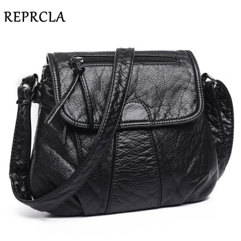 REPRCLA Brand Designer Women Messenger Bags Crossbody Soft PU Leather Shoulder Bag High Quality Fashion Women Bags Handbags 1