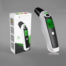 Медицинский 3 в 1 детский цифровой инфракрасный ЖК-термометр для младенца, лоб, ухо, Бесконтактный взрослый прибор для измерения температуры тела