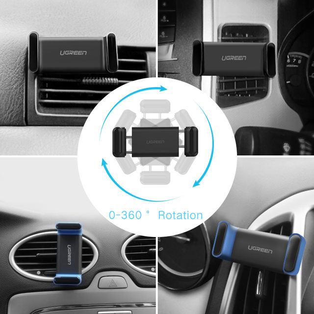 Adjustable Car Vent Phone Holder