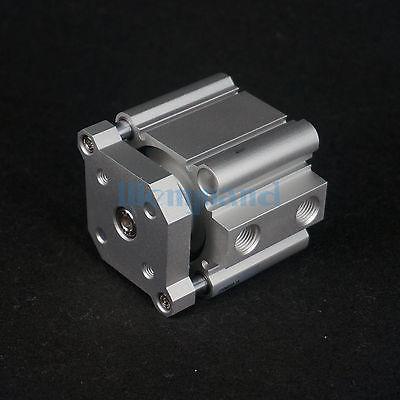 CDQMB50-15 Cilindro Compatto Alesaggio 50mm Corsa 15mm Guida Rod Doppio Effetto Magnete IntegratoCDQMB50-15 Cilindro Compatto Alesaggio 50mm Corsa 15mm Guida Rod Doppio Effetto Magnete Integrato