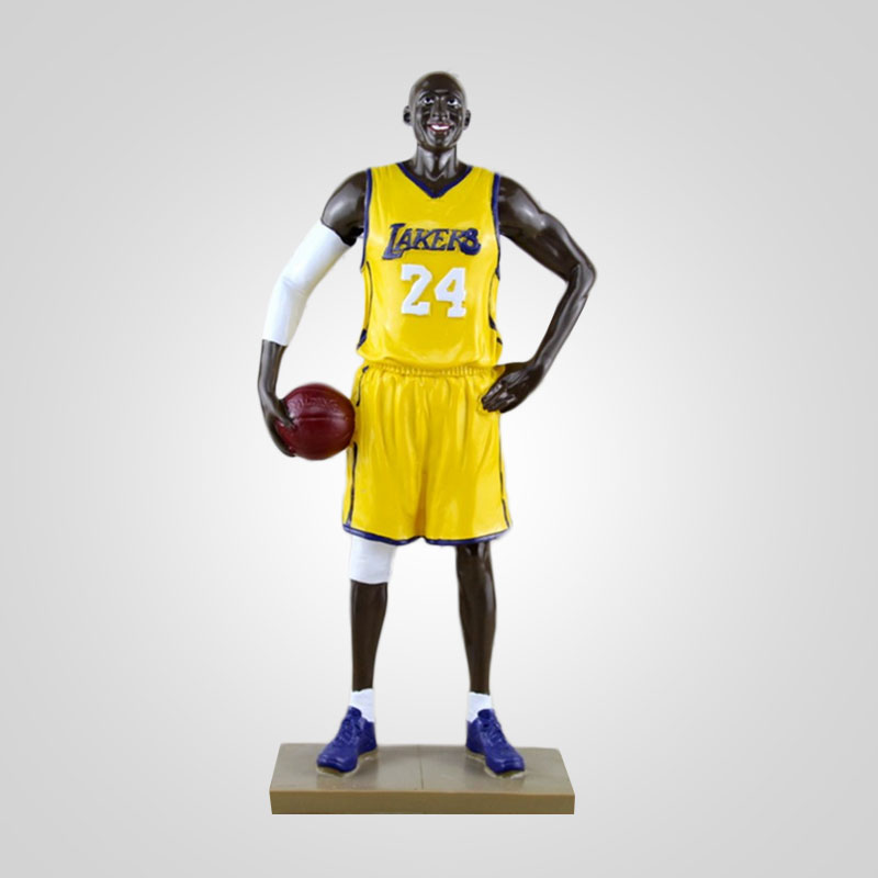 Kobe Enterbay Athlete Action Figure Collection Figurine Los Angels Lakers  Kids Adults Toys Yellow баскетбольную форму lakers