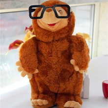 Редкие, супер качество, в очках родинка, милая улыбка, мягкая плюшевая игрушка-Зверюшка, кукла, подарок для мальчиков и девочек, подарок на де...