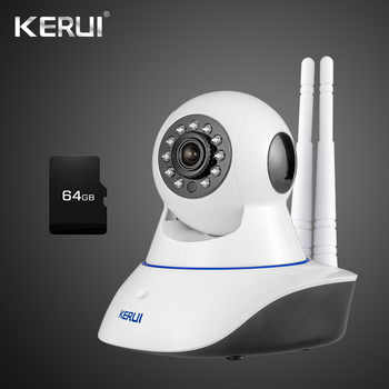 KERUI  Yoosee app Wifi Wireless Home Security IP Camera Security Network CCTV Surveillance Camera Night Vision For Home Alarm - DISCOUNT ITEM  17% OFF All Category