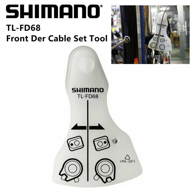 Shimano conjunto de cabo desviador frontal, ferramenta para estrada TL-FD68/FD-9000/6800 / 5800 / 4700