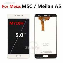Tested For Meizu M5C LCD screen for Meilan A5 M710H Display Touch Screen panel Digitizer Assembly meilan