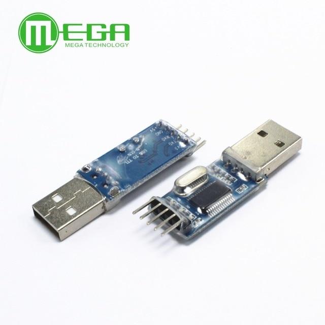 PL2303 USB к RS232 ttl конвертер адаптер с пылезащитные крышки PL2303HX