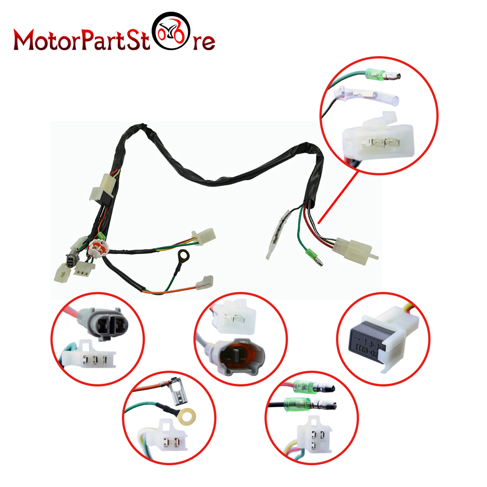 WIRELOOM WIRE LOOM HARNESS IGNITION CDI CONTROL UNIT COIL FIT YAMAHA PW50  PY50 BIKE @20-in Motorbike Ingition from Automobiles & Motorcycles on ...