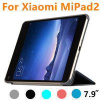 Case For Xiaomi MiPad 2 Protective Smart cover Faux Leather Tablet PC 3 For XIAOMI mipad2 3 Protector Sleeve Covers 7.9 inch PU