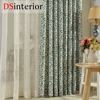 DSinterior Classic Design Polyester Cotton Printing Curtain For Living Room Or Bedroom