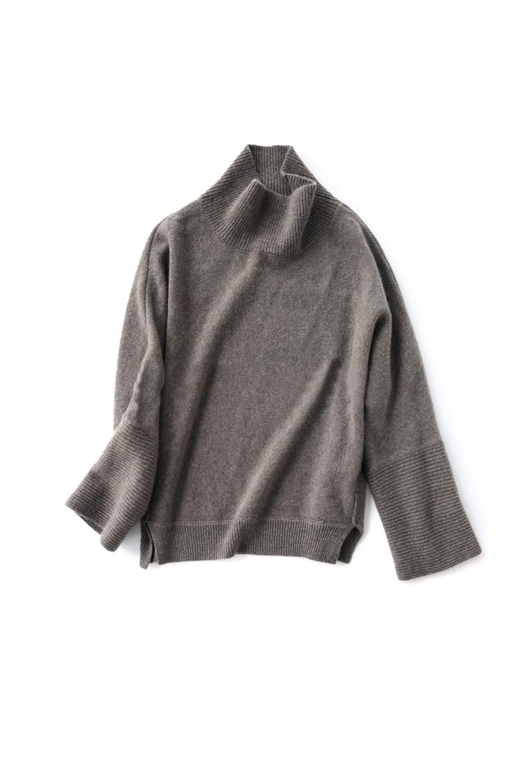 Chemise Femmes Qualité Asymétrique Lâche Guesod Femelle Épais De Cachemire Mode Haute Patchwork 2017 Chandail Brève Gray Linen AxSqwP