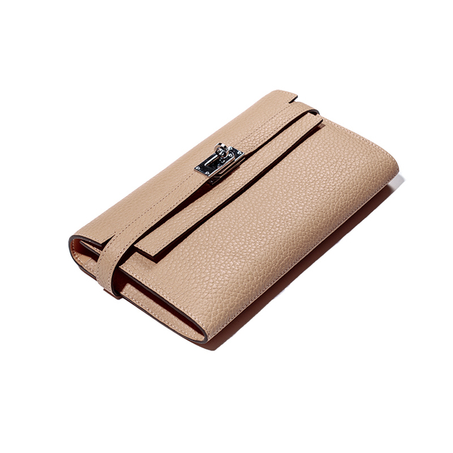 Real genuine Leather Women Wallet 2016 Female Designer Wallets Famous Brand Women Wallet  Ladies clutches Purse Money Bag
