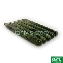 (Gift guasha chart)! Natural Glaze Jade Massage Tool Guasha Beauty kit (pen shape) 12pieces/lot
