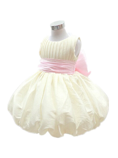 ФОТО BABY WOW Baby Clothes Girls 1 Year Birthday Dress Formal Gowns Vestido Infantil for Newborn -2T Kids Clothes 80125