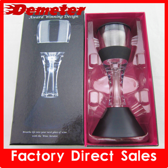 ZK D820 aerator device fine gift bar set add wine  flavor new year gift wine accessories free shipping