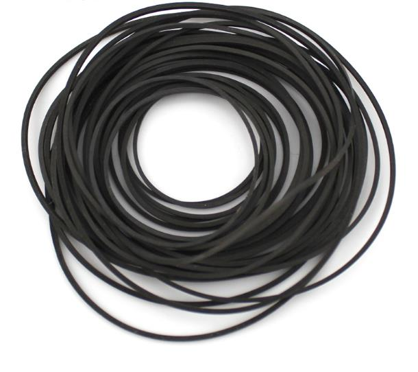30pcs/lot Diameter 30mm to 80mm Engine Drive Belt Motor Small <font><b>Pulley</b></font> Rubber Belt image