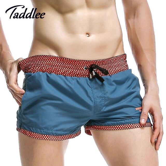 Taddlee Brand Men Shorts Bottoms Jogger Boxer Shorts Workout Man Fitness Sweatpants Men's Active Shorts Trunks Boxer Short Pants