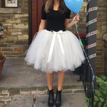 Best Quality Women's Skirt Female Mid Tulle Skirt American Apparel Tutu Skirts Womens Petticoat waist skirt