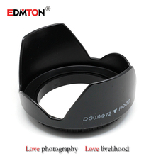 72 mm Digicam Steel Lens Hood 72mm Customary Lens Hood for Canon Nikon Sony Pentax Free Transport