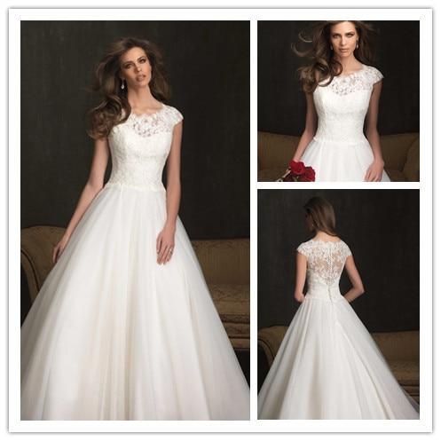 Wedding Dresses Covered Back Weddings Dresses - Covered Back Wedding Dress