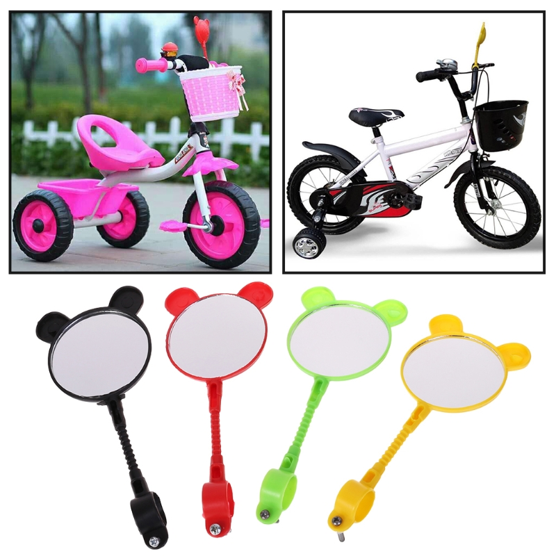 Children Bike Rearview Mirror Kids Bicycle Safety Handlebar Universal Accessory