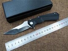 KESIWO Black Shark pocket utility camping knife EDC Folding knife 8cr13 blade outdoor tactical survival knife g10 handle