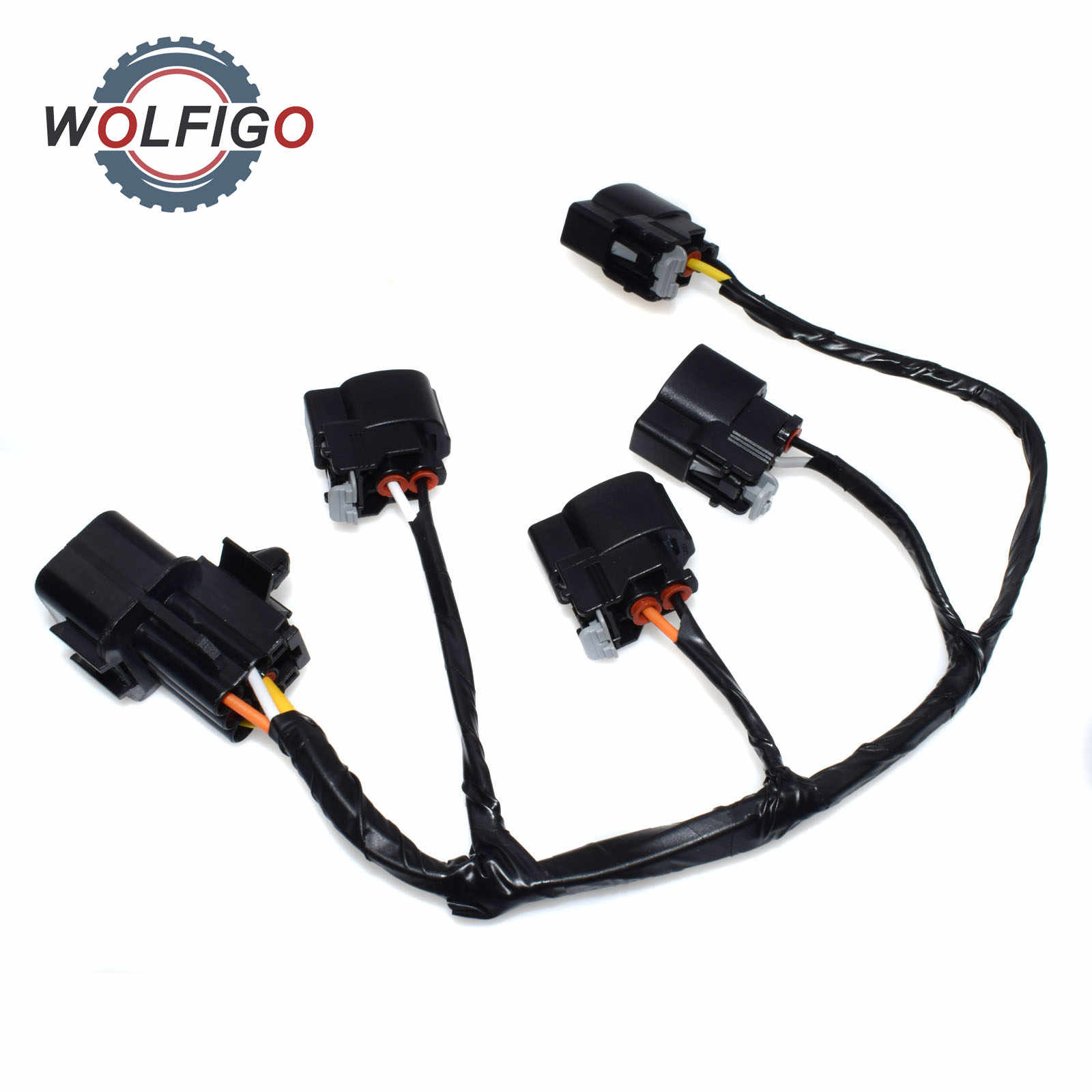 wolfigo new ignition coil wire harness for hyundai veloster kia rio soul 273502b000 27350 2b000 27301 [ 1600 x 1600 Pixel ]