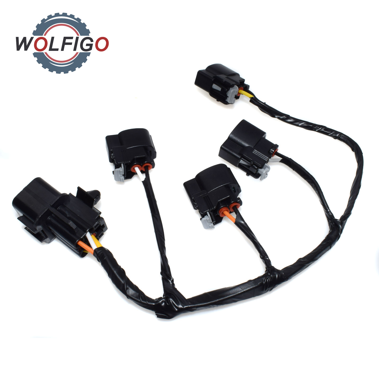 Wolfigo New Ignition Coil Wire Harness For Hyundai Veloster KIA Rio