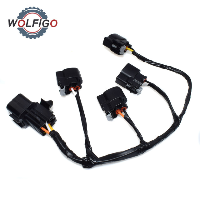 wolfigo new ignition coil wire harness for hyundai veloster kia riowolfigo new ignition coil wire harness for hyundai veloster kia rio soul 273502b000 27350 2b000 27301