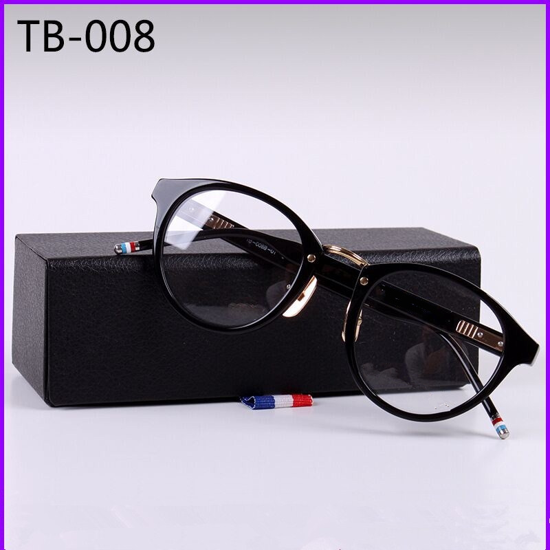 New York eyeglasses TB008 Prescription Eyeglasses Frames Men Fashion Acetate Glasses Computer Optical Frame With Original Box image