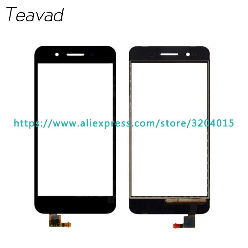 """10 шт./лот высокое качество 5.0 """"для Huawei наслаждаться 5S GR3 Сенсорный экран планшета Сенсор внешний Стекло объектив Панель черный, белый цвет зол..."""