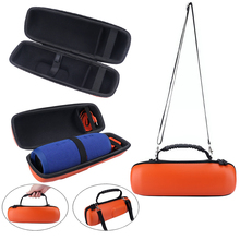 Newest PU EVA Hard Case Travel Carrying Storage Cover Bag For JBL Charge 3 Charge3 Speaker-Extra Space for Plug&Cables