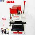 CHKJ Wenxing Q30A Multi-function Automatic Vertical Key Duplicator 220V Car Charger Key Cutting Machine Upgrade From 333L