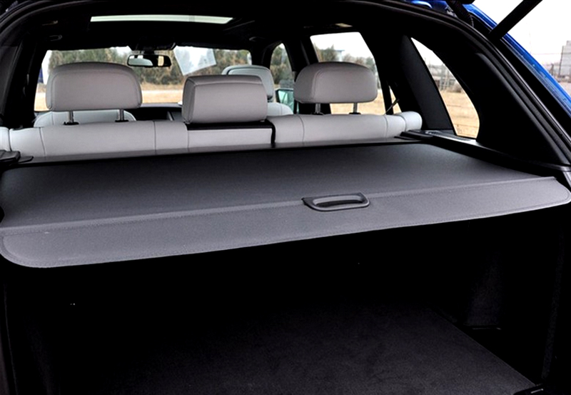 Pour BMW X5 E70 2008 2009 2010 2011 2012 2013 couverture de fret arrière bouclier de sécurité ombre noir