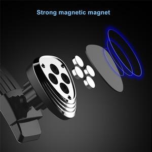 Image 3 - حامل هاتف مغناطيسي ل لوحة سيارة الزجاج الأمامي Adjustablet مركبة حامل هاتف ل iPhone8 XS XR غالاكسي S10 سيارة الهاتف جبل